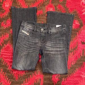 Diesel livier-flare super slim bootcut jeans
